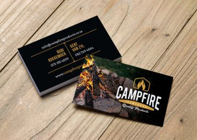Campfire Final Business Cards