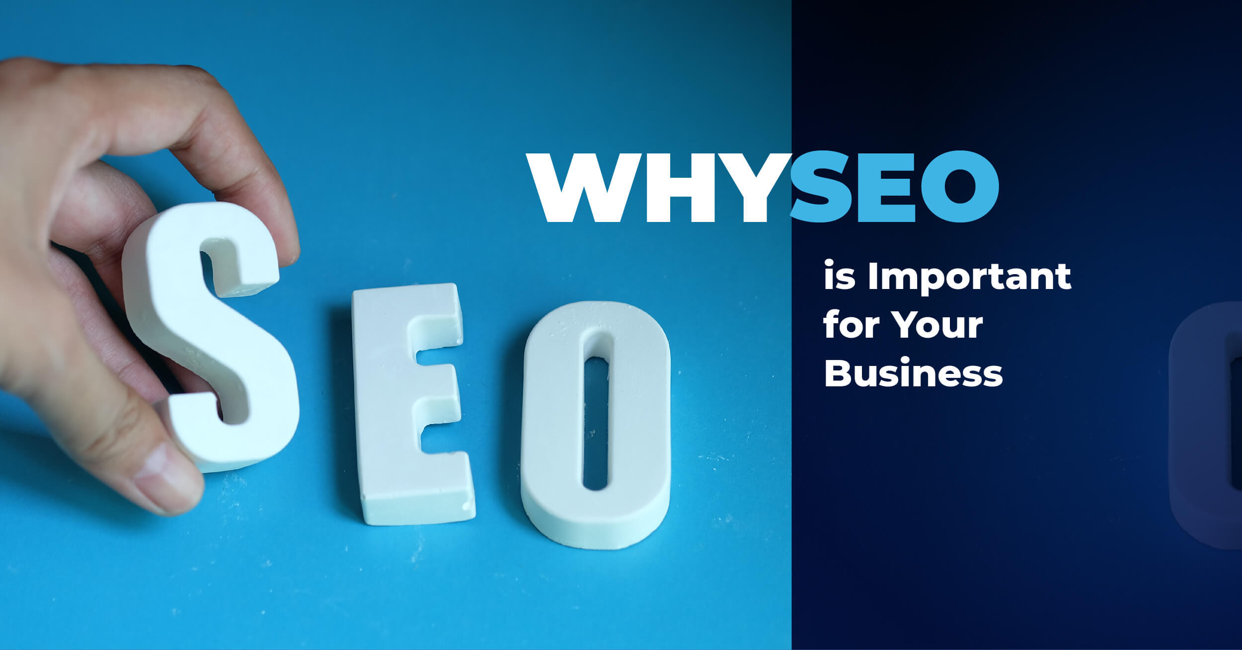 "Image with the words: ""Why SEO is important for your business"""